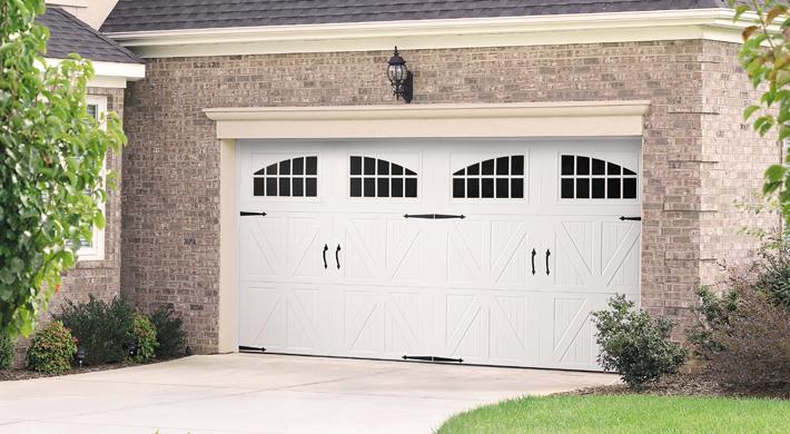 Amarr Garage Doors Classica garage door : classica santiago with seine windows and blue ridge