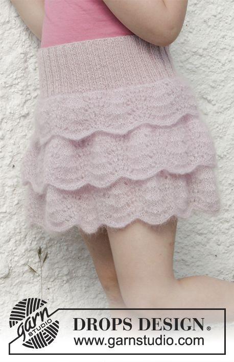 strikkeopskrift nederdel til børn