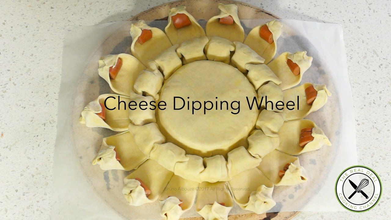 Cheese Dipping Wheel in Puff Pastry – Bruno Albouze – THE REAL DEAL - YouTube