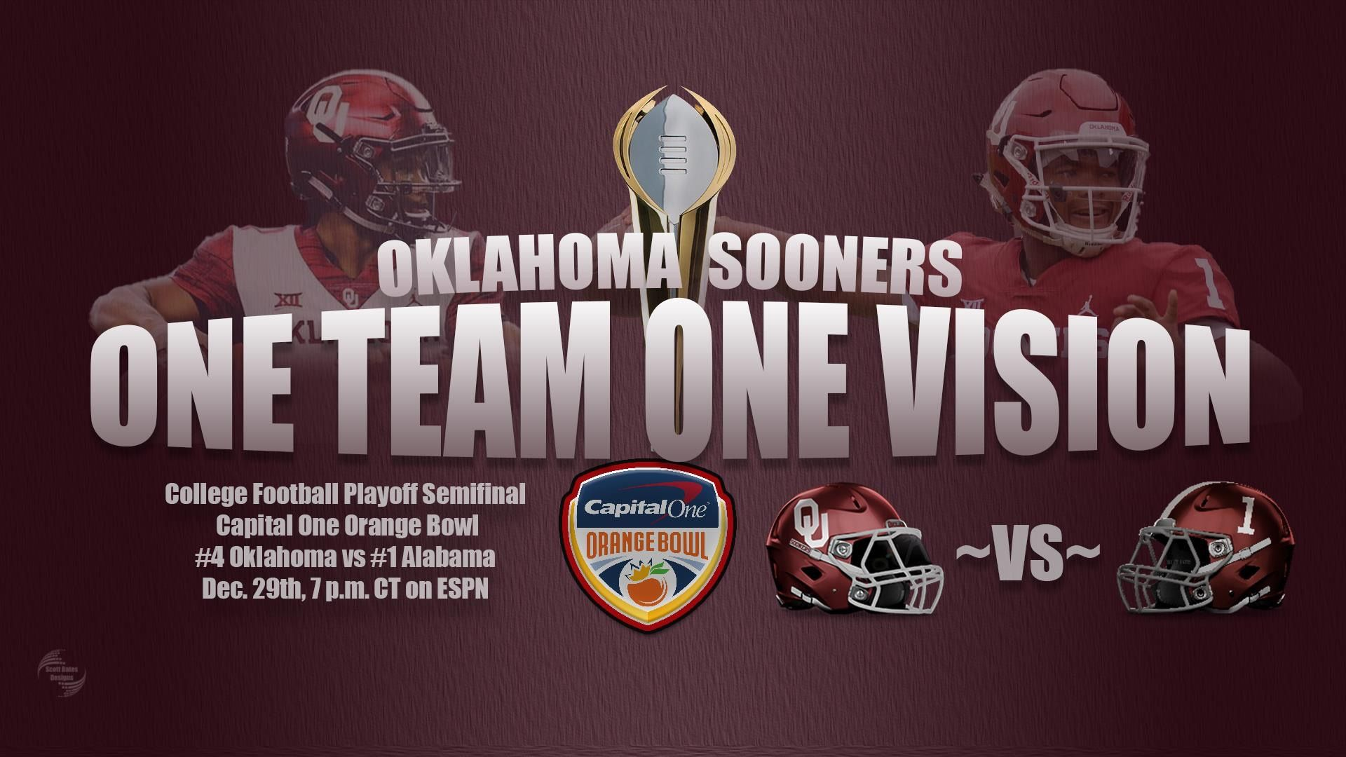 Pin By Kyle Burgess On Sooners Sooners College Football Playoff One Team