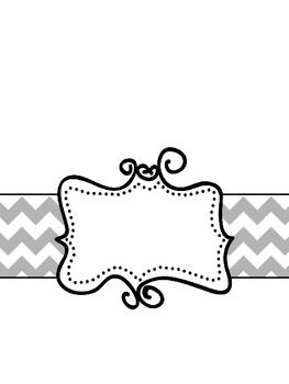 Black And White Binder Covers Binder Covers Printable Binder