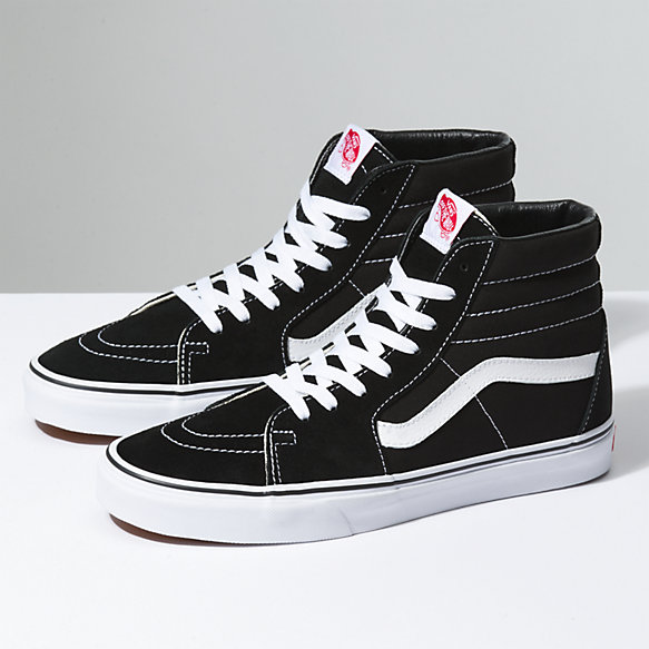 Sk8-Hi | Shop Classic Shoes At Vans | High top vans, Black ...
