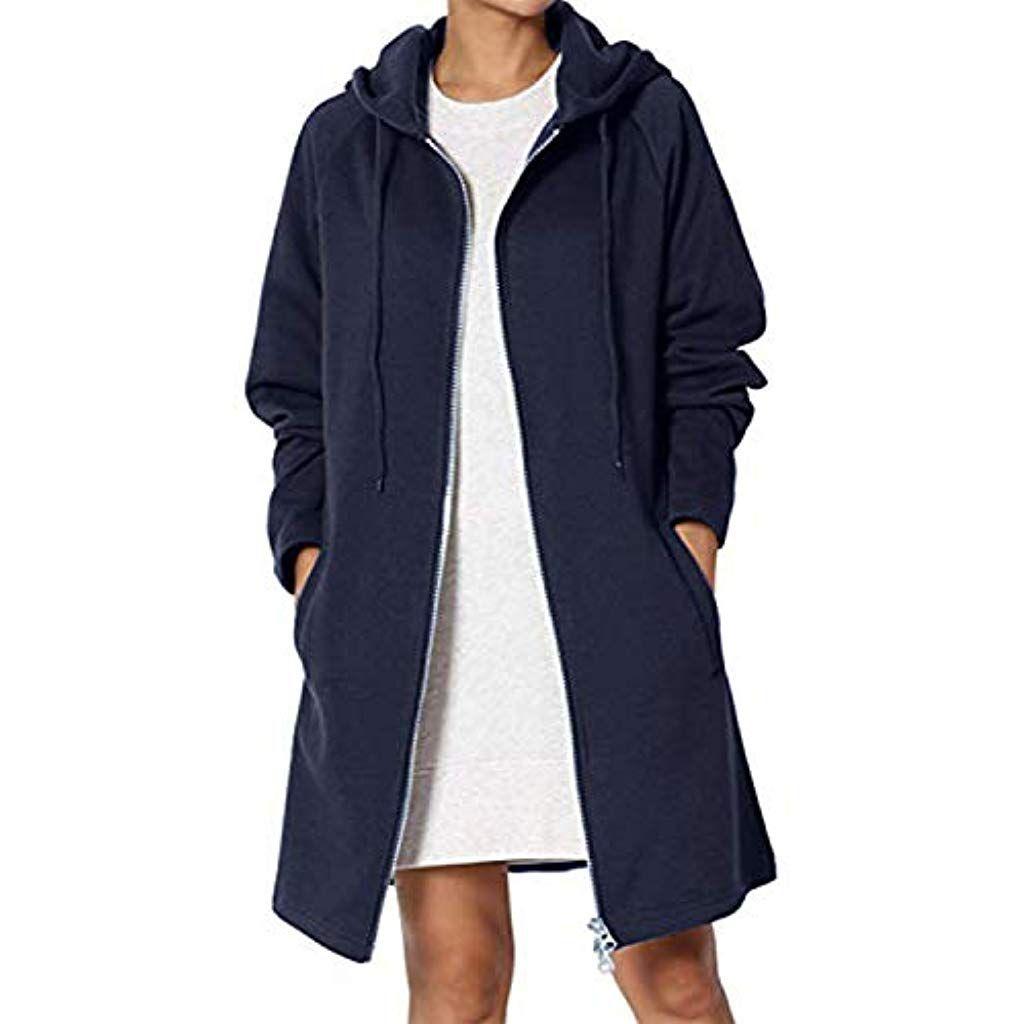 promo code f450f c727d Kidsform Damen Hoodie Langarm Pullover Kapuzenpulli Outwear ...