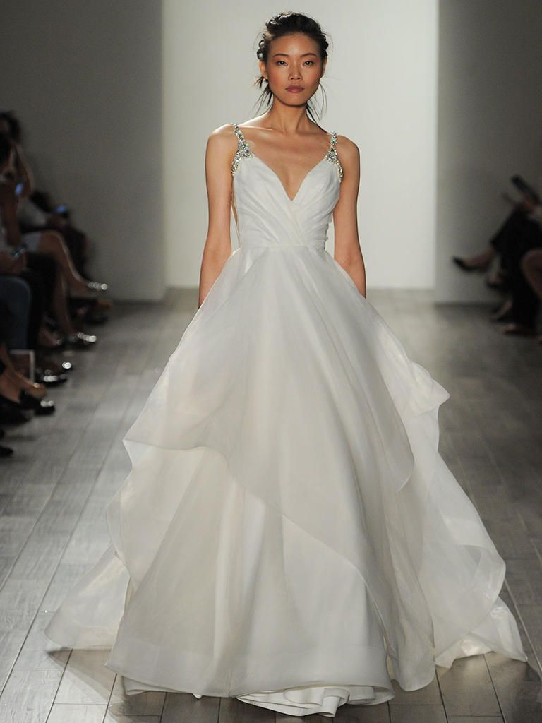 Beautiful Hayley Paige Fall Shimmering Ethereal Wedding Dresses