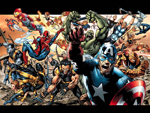 marvel comics heros