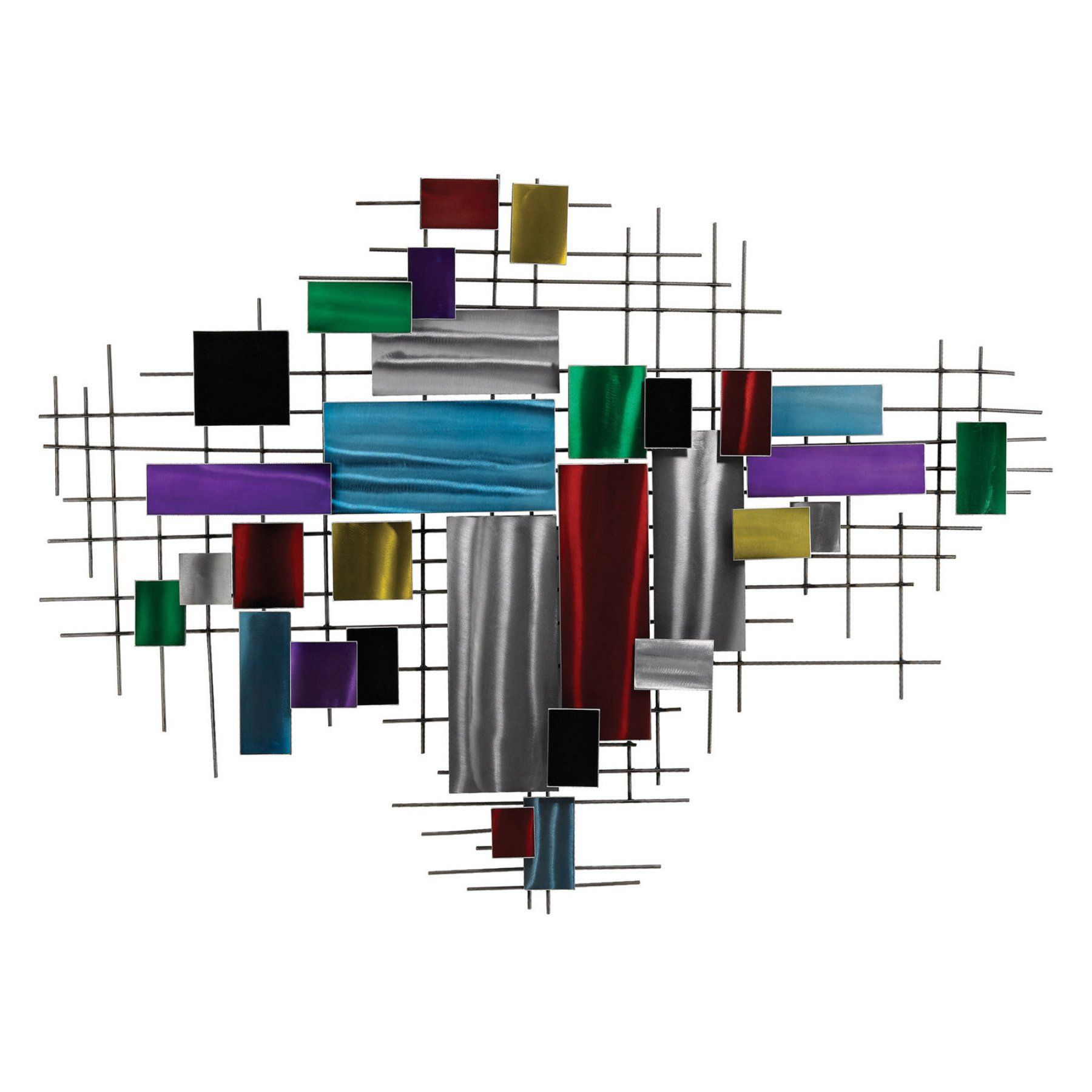Dimond Home Fragmented Scenery Metal Wall Art - 153-003