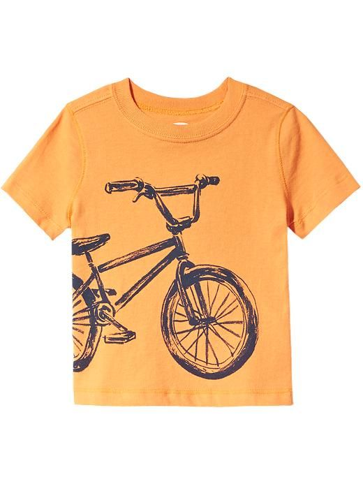 3c382858ff5 Bike-Graphic Tees for Baby