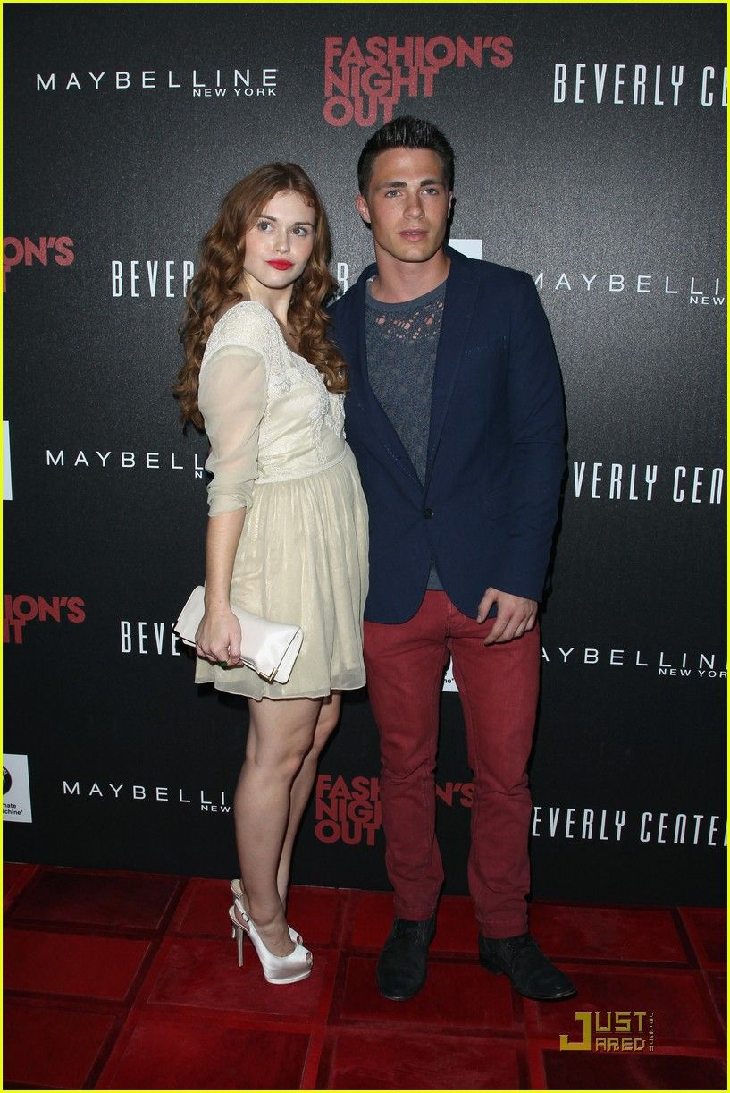 Holland Roden Fashions Night Out (September 8, 2011) in Los Angeles.