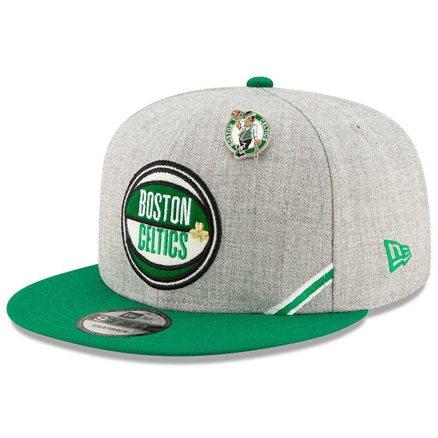 0ef88fba733d4f Boston Celtics New Era 2019 NBA Draft 9FIFTY Snapback Adjustable Hat -  Heather Gray, Your