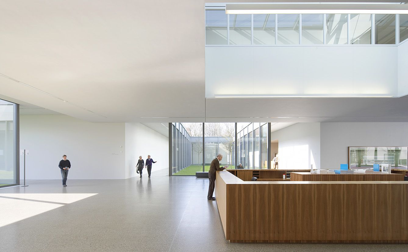 Interior of the Folkwang museum by David Chipperfield. Photo by ...