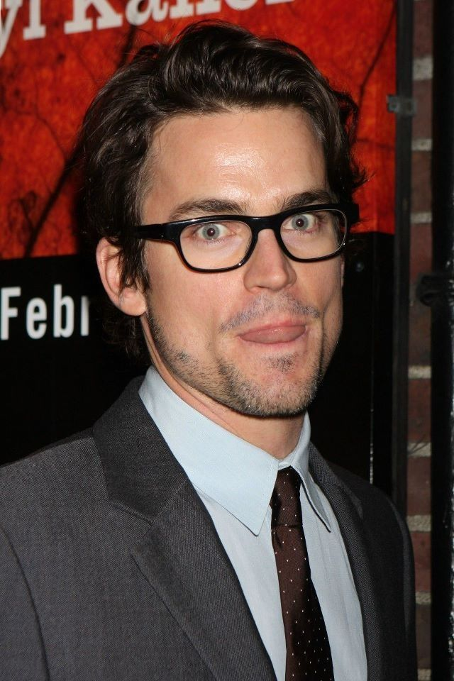 Honestly...that tongue does things to me. Oh Matt Bomer... <3