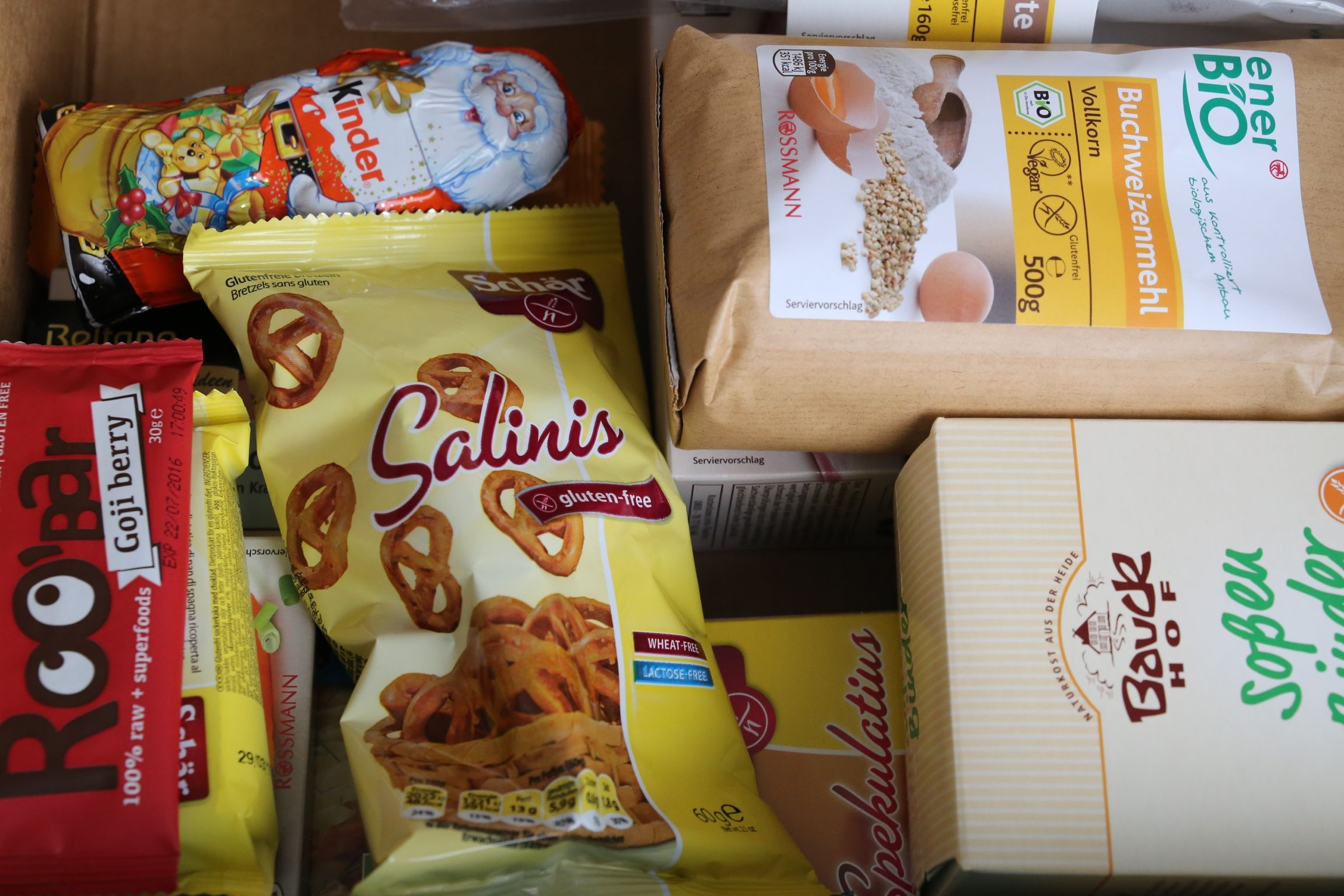 Glutenplan-Adventsbox