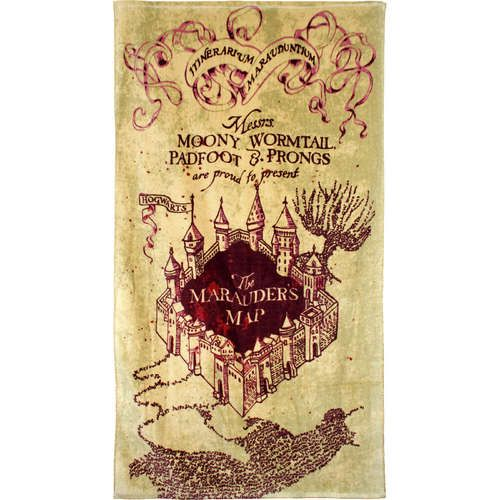 HP the Maurader's Map...I solemnly swear I am up to no good...