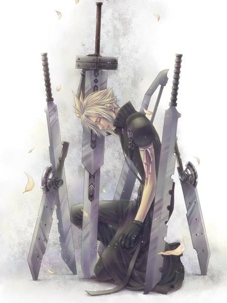 Cloud Strife. Fan art. Final Fantasy VII: Advent Children. #Cloud #FFVII