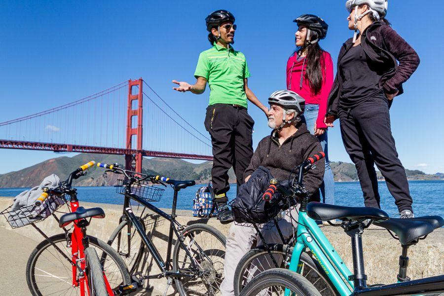 The Golden Gate & Sausalito Bike Tour SoSF Bike Tours