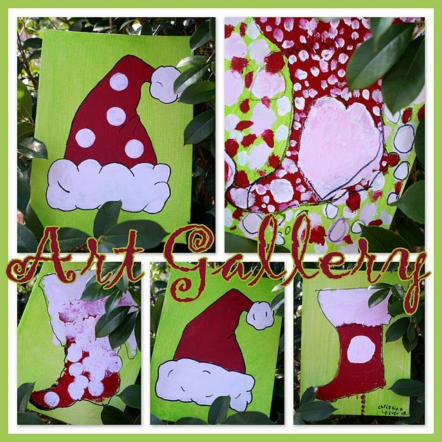 A Little Loveliness Recipes Christmas Art Christmas Paintings Holiday Painting