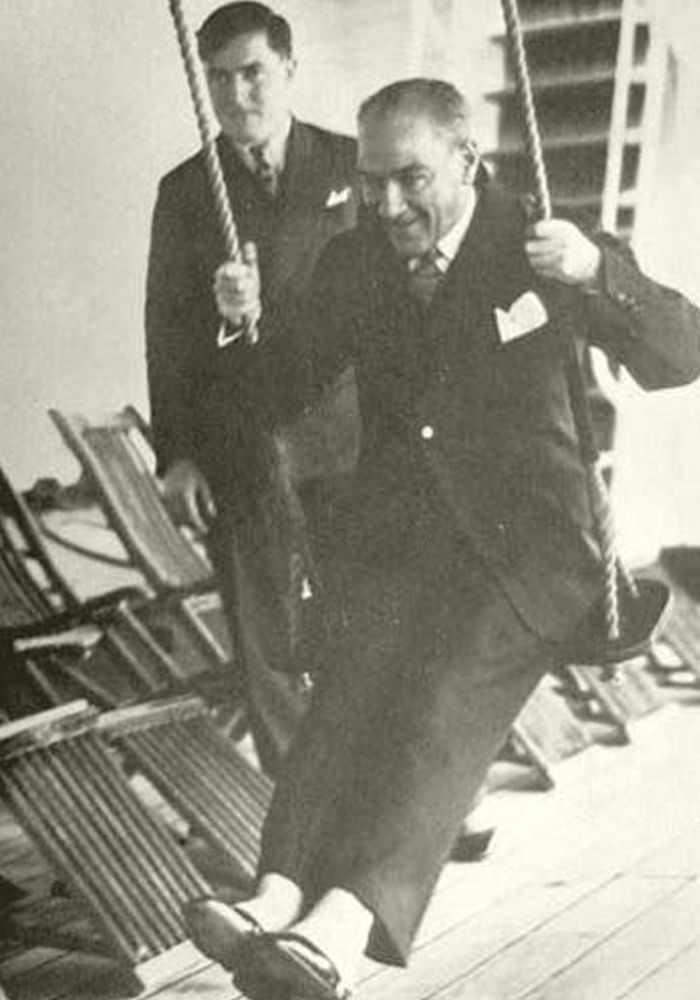 Ataturk On A Swing in 2020 | Historical photos, Photo, Historical