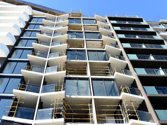 Apartment prices in Melbourne are starting to come down ...