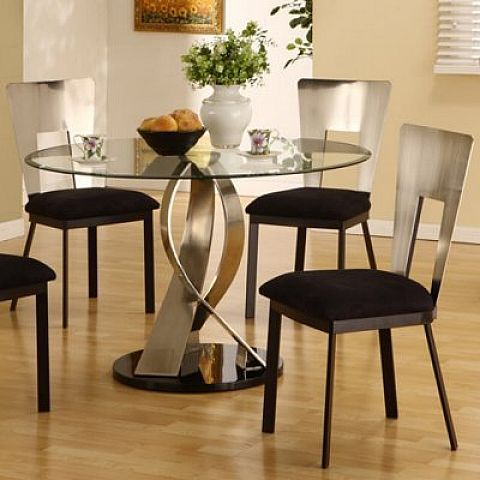 Small Kitchen Tables Small Round Glass Kitchen Table Set