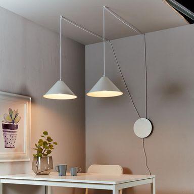 Lampa Wiszaca Somerset Biala Ruchoma E27 Inspire Zyrandole Lampy Wiszace I Sufitowe W Atrakcyjnej Cenie W Sklepach Leroy M Home Decor Decor Ceiling Lights