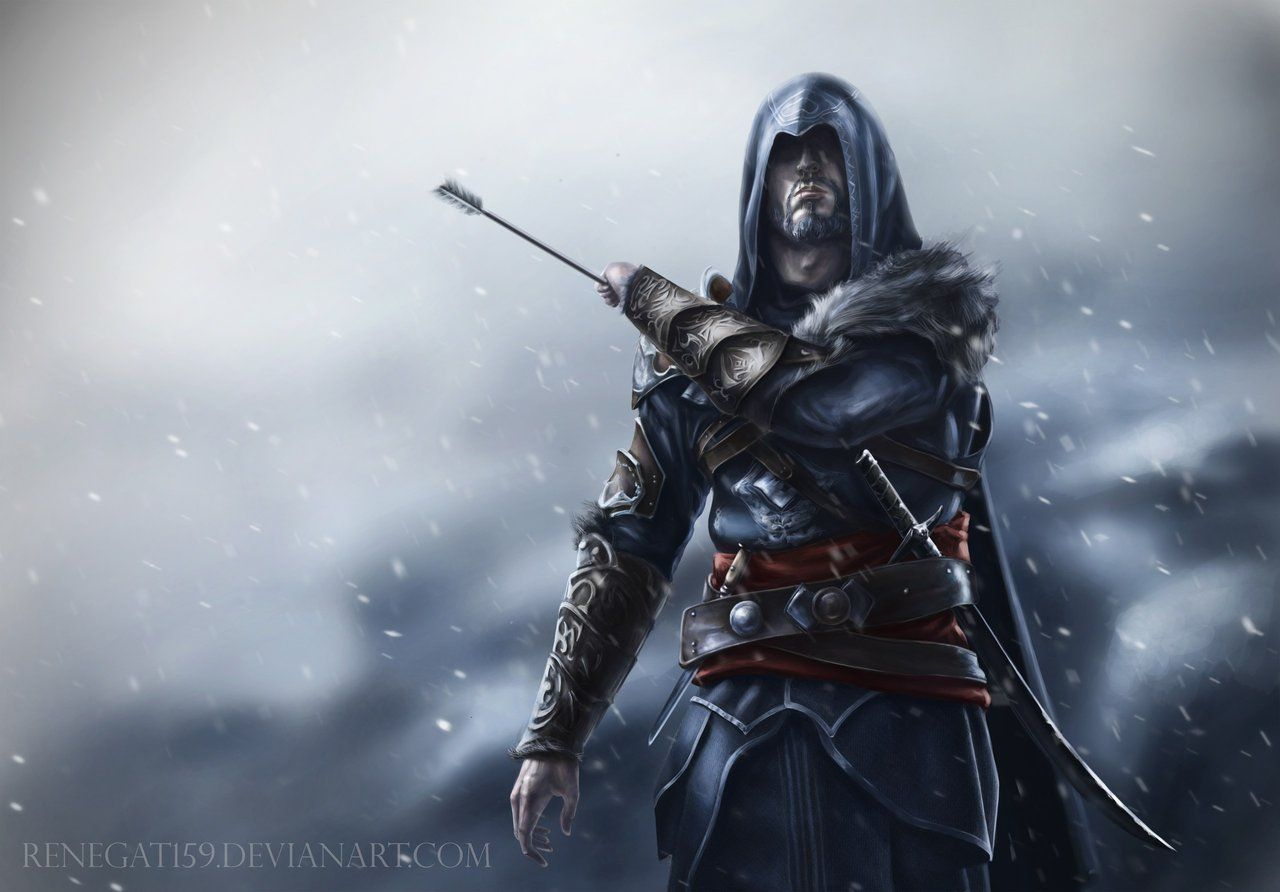 Ezio Auditore Assassins Creed Revelations By Renegat159