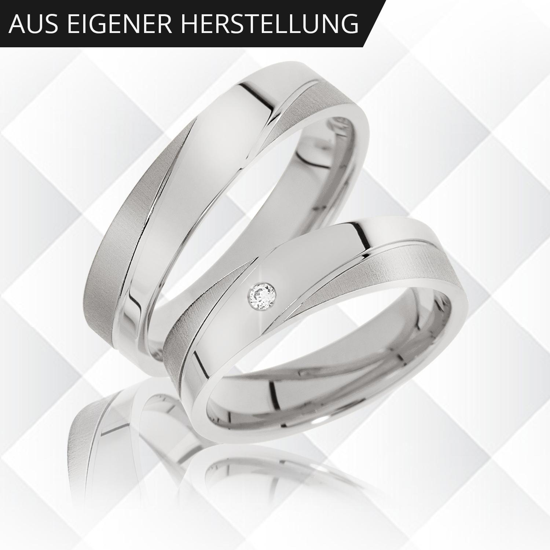 ☀ Partnerringe aus 925er Silber zum Aktionspreis ✓ Silberringe