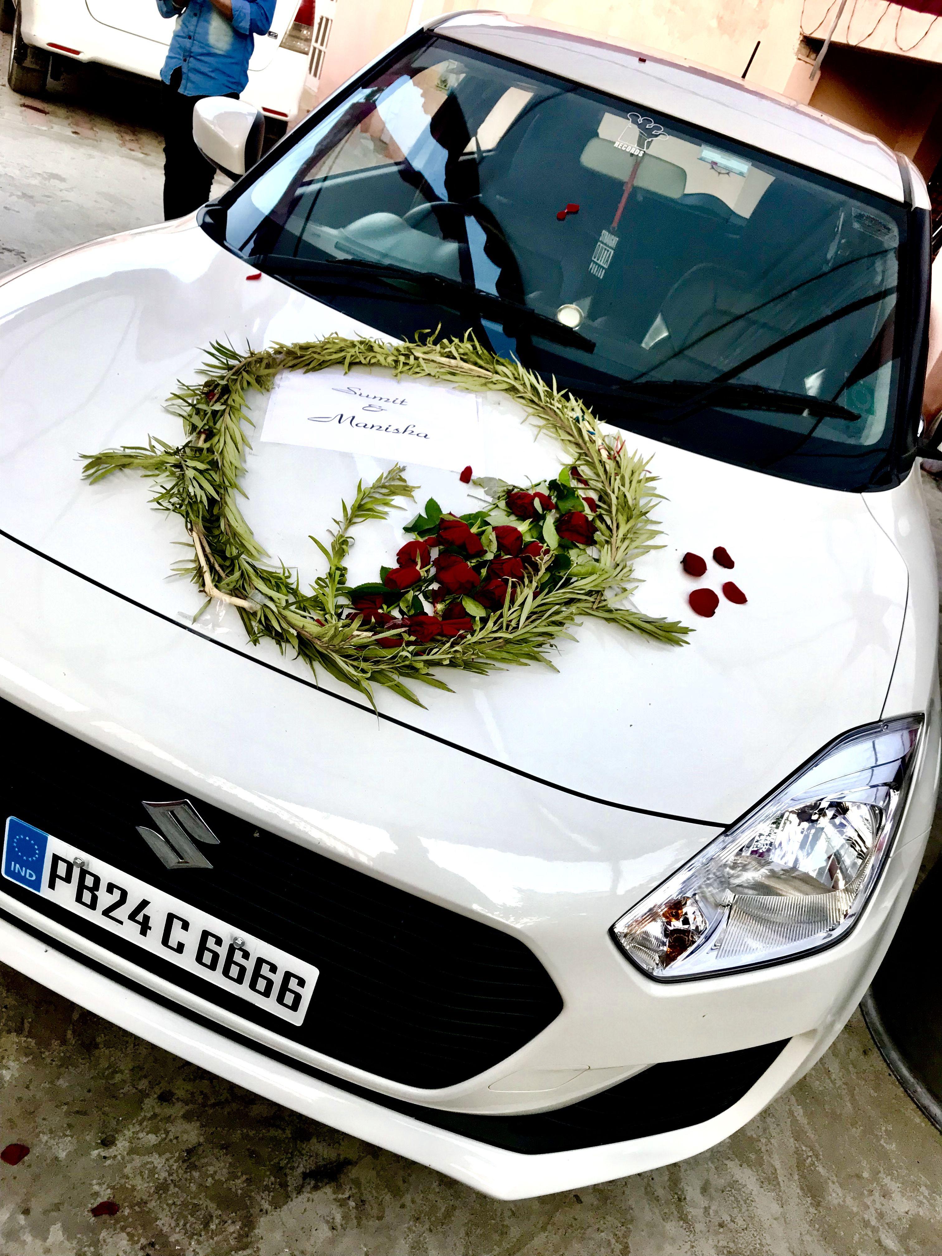 Swift Wedding Car Decor Wedding Car Decorations