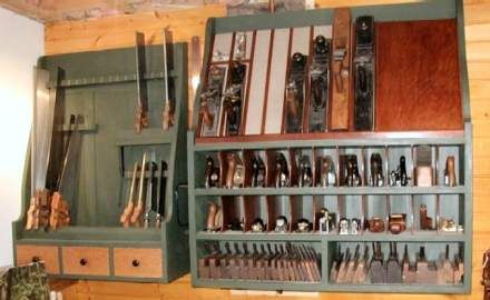 Does Anyone Have Any Ideas Or Plans For A Hand Plane Storage Cabinet