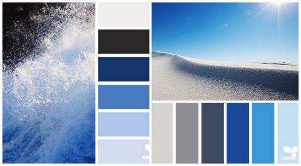 What Color Kitchen Palette Dark Blue Black Sand