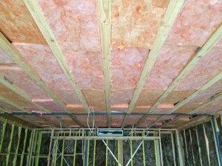 Underfloor insulation  ( Soundproofing )