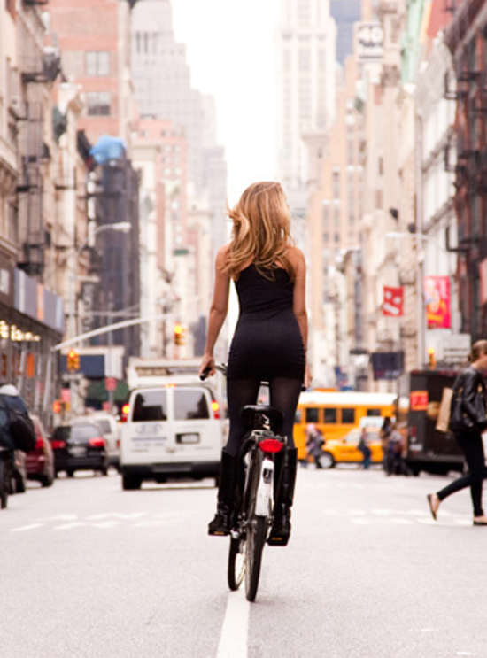 On Every Street Below 14th St In Nyc People Riding Their Bicycles