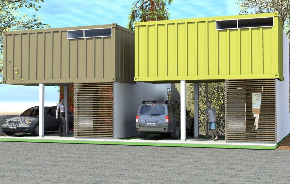 Edificio de contenedores buscar con google - Casas de contenedores maritimos ...