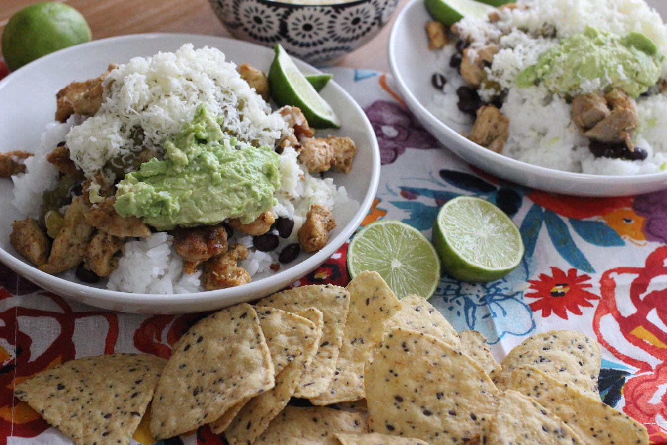 DIY Chipotle Burrito Bowl cleanchefmessymom Recipe