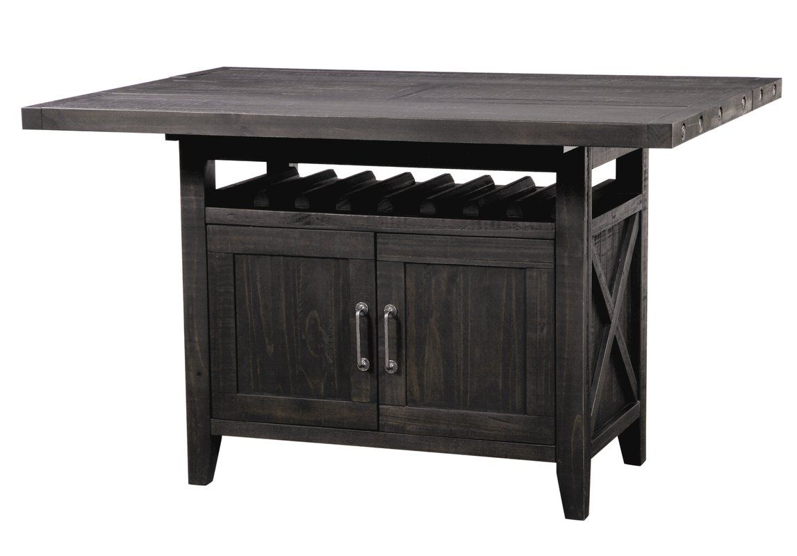 Langsa Counter Height Extendable Dining Table Extendable Dining