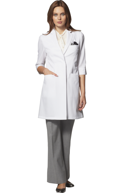 Women's Flare & Summer Fit Lab Coat | Classico | Doctor's day wear ...