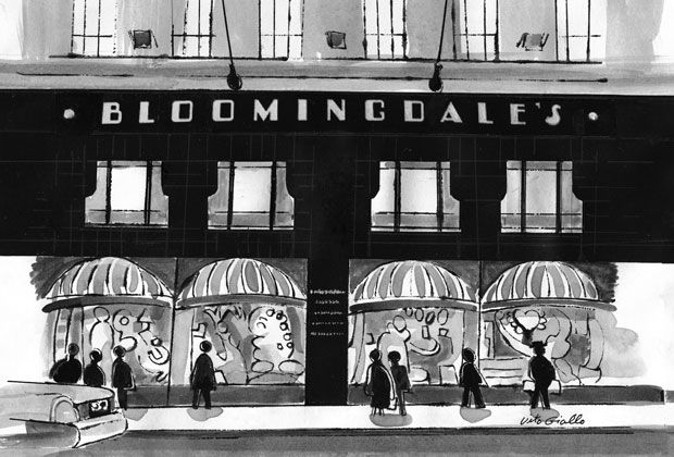 """Bloomingdales Department Store ~ First location was c.1861 NYC-LES. Second location c.1886, 1000 3rd Ave. UES. Another great store enjoyed by Gilded Age society """"400""""!"""