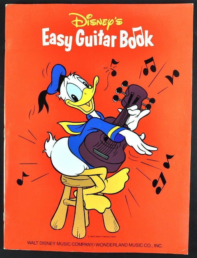 Disneys Easy Guitar Song Book Sheet Music Instruction Notes & Tab ...