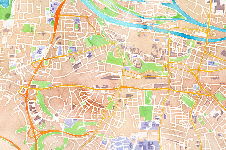 Regensburg Map Stack Stamen Design Regensburg Pinterest - Regensburg map