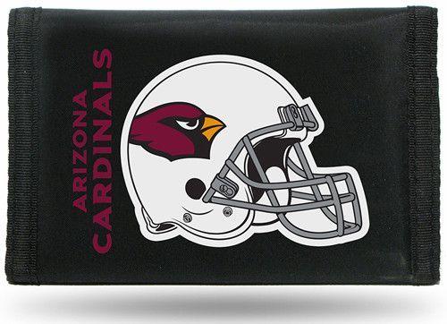 Arizona Cardinals Tri-Fold Nylon Wallet