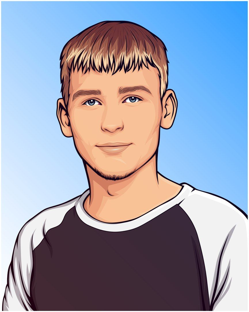 Vector Art Style Order Your Portrait Turn Photo Into Cartoon My Cartoon Portrait Cartoon Of Yourself Make A Cartoon Cartoon