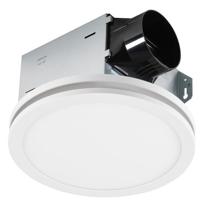 Utilitech Ventilation Fan 1.5-Sone 100-CFM White Bathroom ...