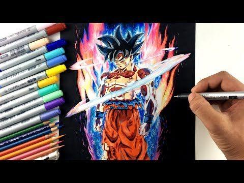 Drawing Goku New Form Ultra Instinct Limit Breaker Youtube Goku New Form Dragon Ball Wallpaper Iphone Goku