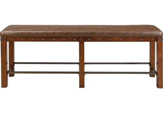 Red Hook Counter Height Bench 19999 66W X 255D 16H Find BenchDining Room