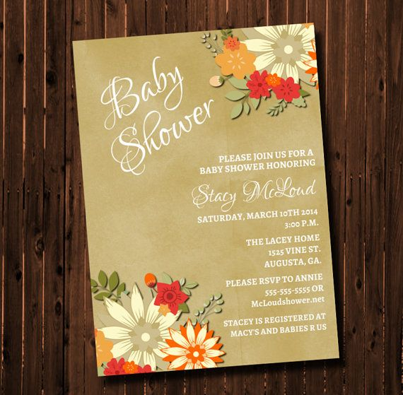 Baby Shower by GooseCornerGreetings on Etsy, $15.00
