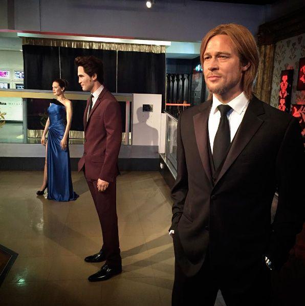Madame Tussauds separa estátuas de Angelina Jolie e Brad Pitt em Londres