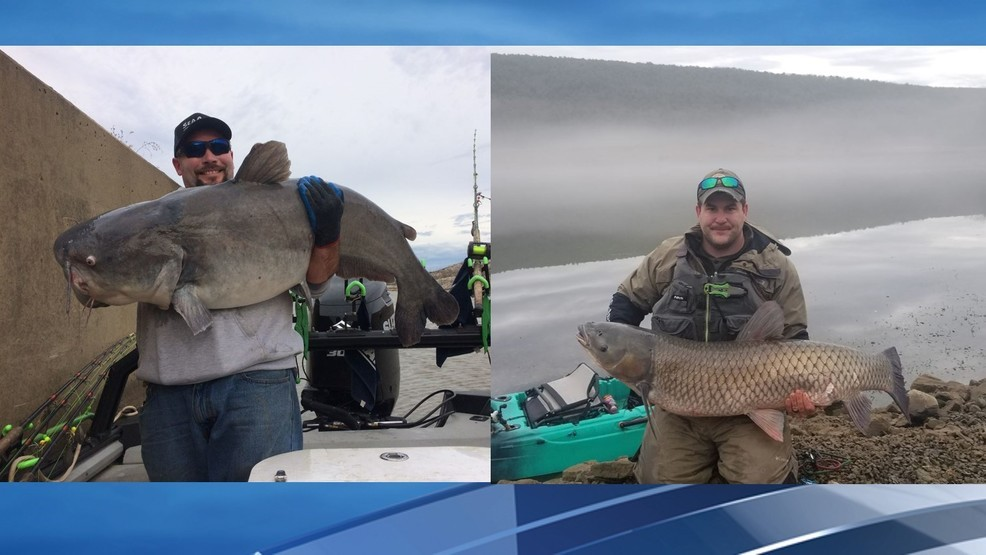 Nice catch Two West Virginia men set new state records