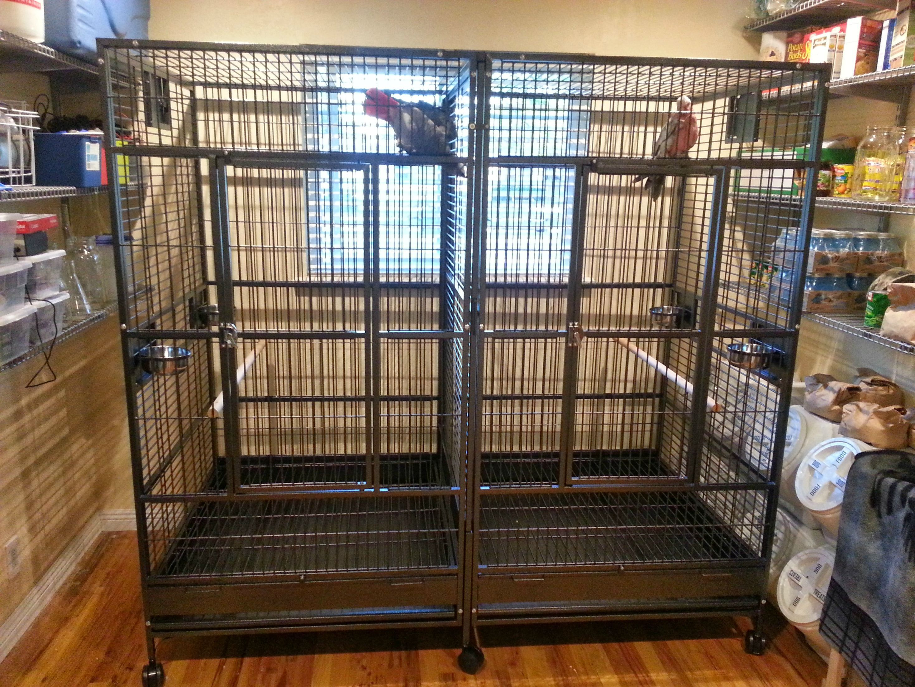 double macaw cage craigslist | Bird cage's | Wooden patio doors