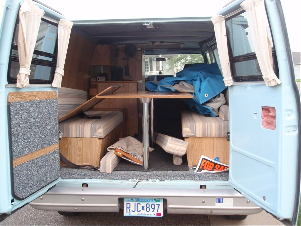 Cool But Wouldn T Leave Much Room For Storage 1992 Chevrolet Van