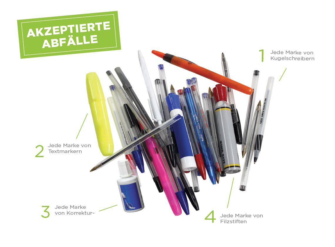 Terracycle Kugelschreiber Textmarker Stifte