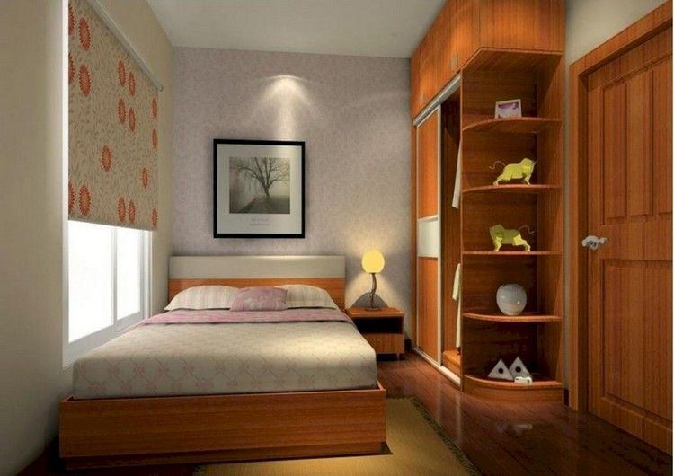 65 Easy Small Bedroom Design And Decor Ideas Indian Bedroom